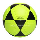 Balón de fútbol fluorescente impermeable de colores brillantes