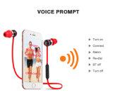 El mejor ruido magnético de Earbuds que cancela los auriculares con Mic, auricular estéreo sin hilos del deporte de los auriculares de Bluetooth
