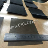 Ярко без сетки ячеистой сети 50 покрытия диаметра провода 0.15mm Titanium сетчатого