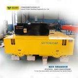Remorque de transport électrique motorisée à vendre à chaud sur ciment (BWP-65T)