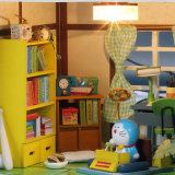 Малыш красивейшее Yizhi собирая деревянный Dollhouse игрушки DIY