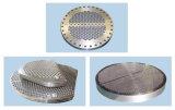 Déflecteur fait sur commande de usinage d'échangeur de chaleur de la commande numérique par ordinateur Ce/PED/En10204-3.1