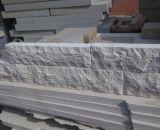白い砂岩、床砥石で研がれる、鋸で挽かれた切口タイル、敷石
