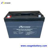 Bateria de gel de ciclo profundo recarregável 12V300ah para painel solar