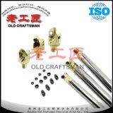 Support d'outil de rotation de garnitures intérieures de carbure de tungstène avec la haute précision