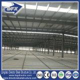 Гальванизированное здание стальной рамки пяди полуфабрикат пакгауза стальной структуры длиннее