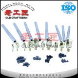Support de coupeur de fraisage de carbure cimenté de tungstène avec la haute précision