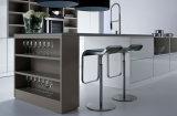 ホーム台所家具のMDFの食器棚の高い光沢のあるラッカー終わり