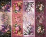 Neuer Ansammlungs-Digital-Druck-Silk Schal (C-017)