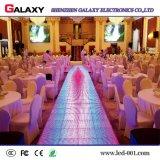 Suelo de baile interactivo a todo color del mejor precio P6.25/P8.928 LED con el sensor de movimiento