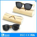 Proteggere gli occhiali da sole di bambù polarizzati disegno d'avanguardia magnetico di Eyewear con il caso
