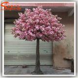 2015 Direto da fábrica de seda falso de plástico artificial Árvores de Flor de Cerejeira