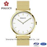 Estilo clássico de aço inoxidável de moda relógio de moda relógios OEM personalizados