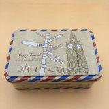 長方形のギフトの錫ボックス甘いキャンデーボックス宝石箱