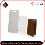 Ventana de PVC OEM cajas de cartón para embalaje de cartón de verificación