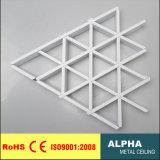 Потолок клетки треугольника металла ложным ый украшением алюминиевый