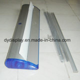Amplia base de una cara de Banner Roll up Stand de Banner Roll up retráctil