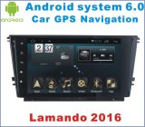 Android System 6.0 Car Stereo para Lamando 2016 com leitor de DVD de carro