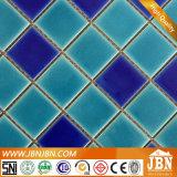 氷のプール(C648029)のための一流の青および緑色の磁器のモザイク