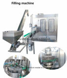 Tecla de mudança automática de garrafa pet de 500ml a 1000ml 1500ml 2000ml fábrica de engarrafamento de água potável da Mola