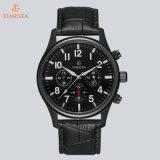 Grande Relógio De Couro Quartz Relógios De Homens Relógios De Moda Vintage Relógios Impermeáveis Multifuncionais De Homem 72699
