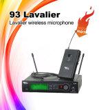 93 Lavalierの楽器のLavalier UHFの無線電信のマイクロフォン