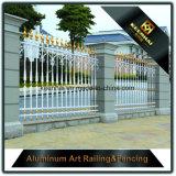 Rete fissa di alluminio del giardino di segretezza Qualità-Rassicurante per alto Sequrity