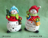 Het Beeldje van het Standbeeld van de Mens van de Sneeuw van Kerstmis voor Ornament