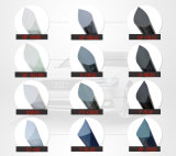 2ply reflektierende 5% Holzkohle Anti-Löschen Auto-Fenster-metallischen abtönenden Film