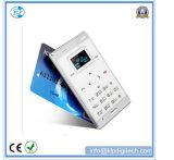 Taille de la carte de crédit M3 Téléphone portable ultra-mince avec le prix d'usine
