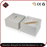 Logo personnalisé du papier couché boîte cadeau en carton dur