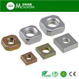 Het zink plateerde de Gegalvaniseerde Geplateerde Vierkante Noot van het Koolstofstaal (DIN557)