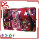 Bolsa Ziplock sellado térmico de lámina de plástico bolsas de embalaje de alimentos secos