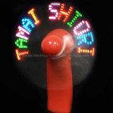Горячая таможня надувательства освещает вверх напечатанный вентилятор СИД миниый с логосом (3509)