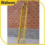 De in het groot Glasvezel die van de Uitbreiding van de Stap van de Combinatie van 7m de Isolatie van de Ladder vouwen volledig