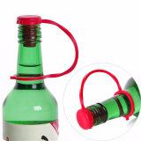 Kundenspezifische Glaswein-Flaschen-Nahrungsmittelgrad-Silikon-Gummi-Stecker-Stopper