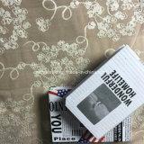 2016 Chenilla poliéster hilado fantasía teñido de tela de cortina de ventana
