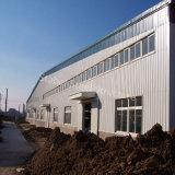 Edifício portal do armazém da construção de aço da luz do frame com melhor planta