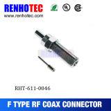 Hembra auto con RG174/316 el conector del cable coaxial F