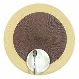 Färbt 100% pp. rundes gesponnenes Placemat für Tischplatte
