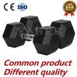 De rubber Met een laag bedekte Levering voor doorverkoop van Crossfit van de Toebehoren van de Apparatuur van de Geschiktheid van de Gewichten van de Gymnastiek van de Domoor van de Hexuitdraai