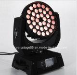 LEDの段階の照明36*15W 6in1ズームレンズの洗浄移動ヘッドライト
