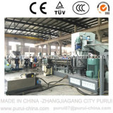 Sistema di riciclaggio di plastica del granulatore per la pelletizzazione della pellicola del LDPE