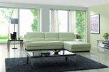 Sofá secional de sofá de couro genuíno de sala de estar (SBO-5909)
