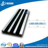 Escalera de aluminio de la seguridad exterior que olfatea con la pieza inserta antirresbaladiza