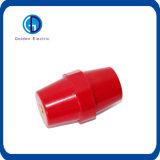 A manutenção programada datilografa isoladores isolados elétricos da barra dos isoladores da barra
