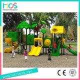Спортивная площадка коммерчески оборудования скольжения детей пластичная напольная (HS06501)