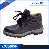 De in reliëf gemaakte Schoenen van de Veiligheid van het Leer S3 met Ce Ufb006