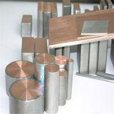 Alta Qualidade Barra de cobre revestido de titânio para cloretos água haste quadrada ou rectangular plana Hex
