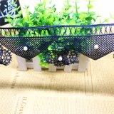 Merletto di nylon di immaginazione della guarnizione del ricamo del poliestere del merletto del commercio all'ingrosso 8cm del ricamo di riserva di larghezza con la pietra per l'accessorio degli indumenti & tessile & tende domestiche